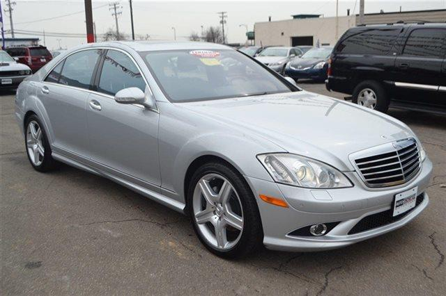 2008 MERCEDES-BENZ S-CLASS S550 4DR SEDAN silver low miles this 2008 mercedes-benz s-class 55l