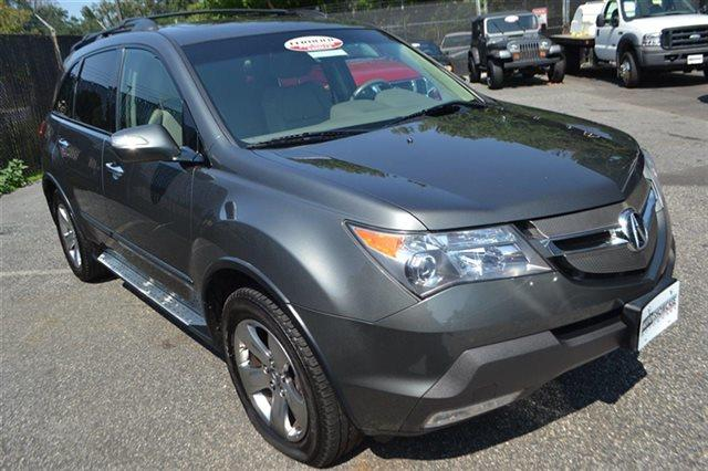 2007 ACURA MDX SH-AWD WSPORT PACKAGE WRES 4DR nimbus gray metallic new arrival this 2007 acu
