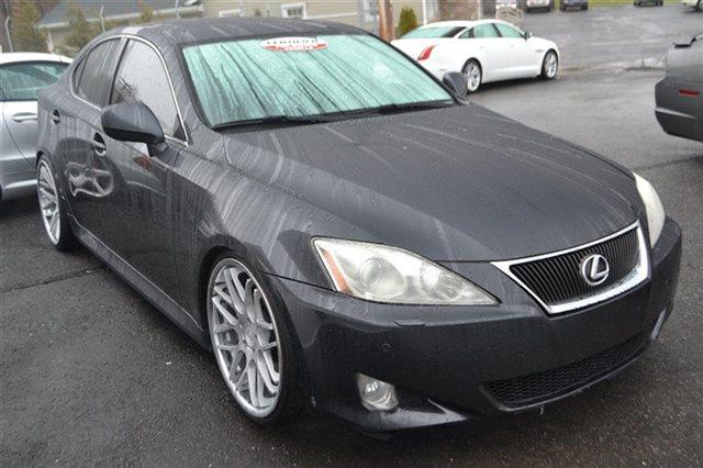 2008 LEXUS IS 350 BASE 4DR SEDAN smoky granite mica value priced below market sunroofmoonroof