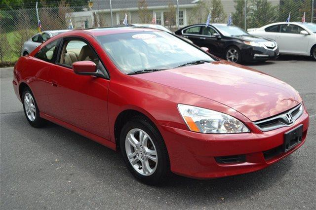 2007 HONDA ACCORD 2DR I4 AUTOMATIC EX san marino red value priced below market navigation su