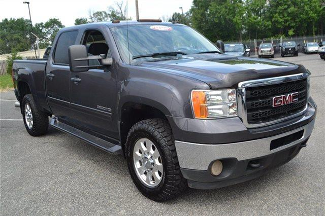 2011 GMC SIERRA 2500HD SLE mocha steel metallic this 2011 gmc sierra 2500hd 4dr sle features a 6
