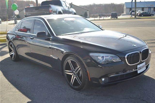 2009 BMW 7 SERIES 750LI 4DR SEDAN black sapphire metallic this 2009 bmw 7 series 750li will sell