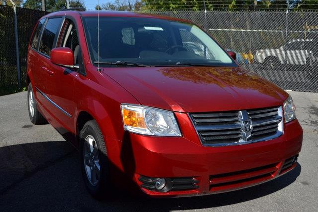 2010 DODGE GRAND CARAVAN SXT 4DR MINI VAN red this 2010 dodge grand caravan 4dr 4dr wagon sxt fea