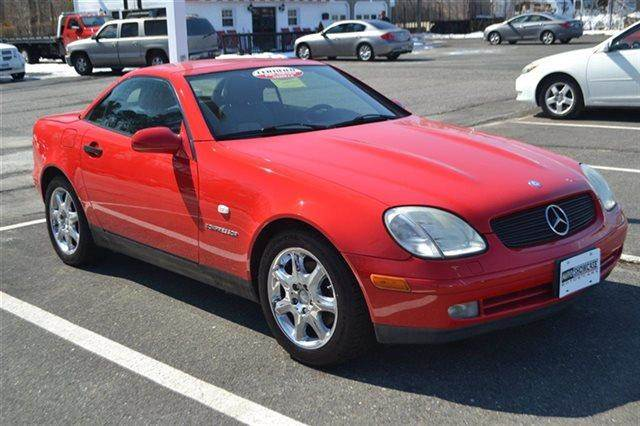 1999 MERCEDES-BENZ SLK-CLASS SLK230 2DR KOMPRESSOR ROADSTER 2 red keyless start this 1999 merc