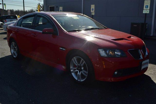 2009 PONTIAC G8 4DR SEDAN red low miles this 2009 pontiac g8 4dr sedan will sell fast -leather