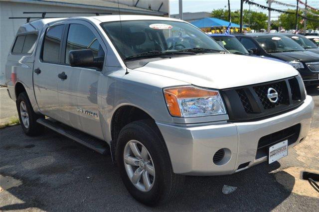2011 NISSAN TITAN 4WD CREW CAB SWB PRO-4X radiant silver warranty included a limited warranty is