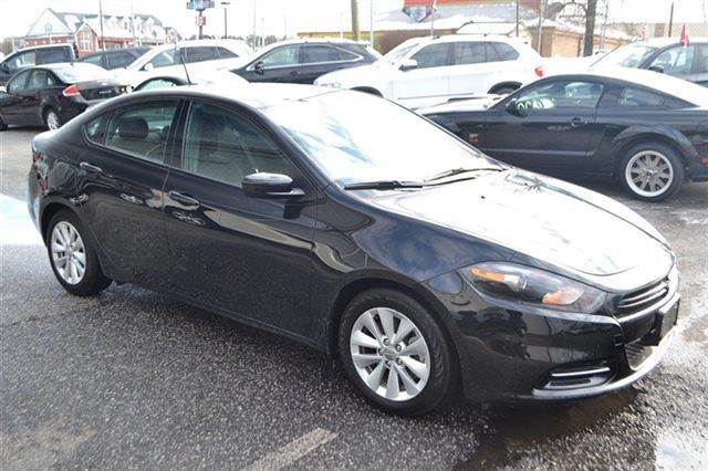 2014 DODGE DART SXT 4DR SEDAN black low miles this 2014 dodge dart sxt will sell fast -alloy wh