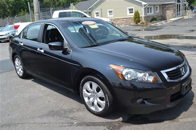 2008 HONDA ACCORD 4DR V6 AUTOMATIC EX-L SEDAN nighthawk black pearl new arrival value priced b