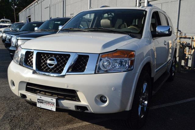 2010 NISSAN ARMADA SE 4X4 4DR SUV white this 2010 nissan armada 4dr se features a 56l 8 cylinder