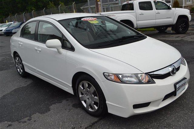 2011 HONDA CIVIC LX 4DR SEDAN 5A taffeta white value priced below market keyless start autom