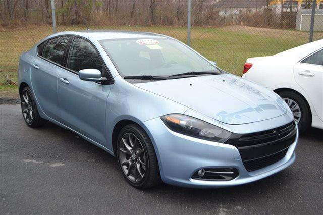 2013 DODGE DART LIMITED 4DR SEDAN blue back-up camera bluetooth leather seating automatic h