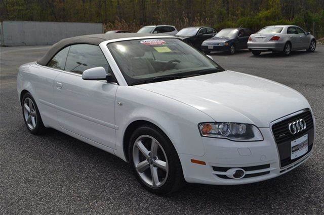 2008 AUDI A4 32 QUATTRO AWD 2DR CONVERTIBLE ibis white premium sound package keyless start