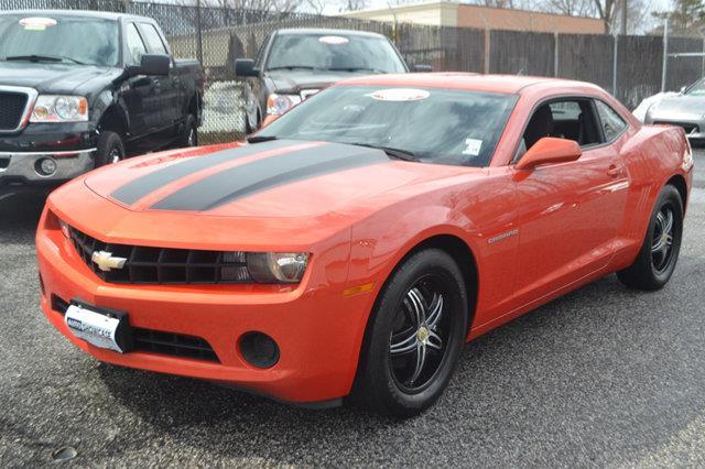 2010 CHEVROLET CAMARO LS 2DR COUPE orange this 2010 chevrolet camaro 2dr 2dr coupe ls features a