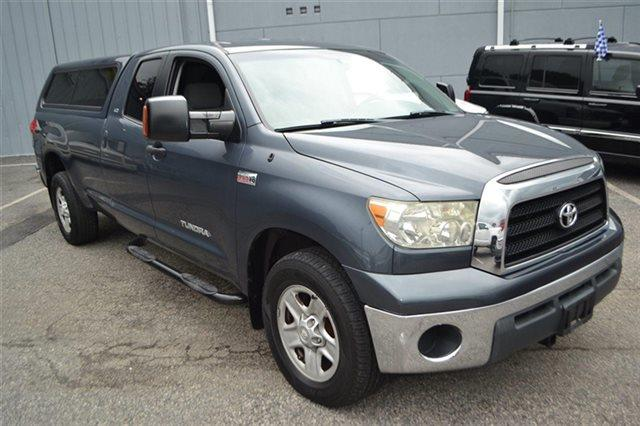 2007 TOYOTA TUNDRA SR5 4DR DOUBLE CAB LB 57L V8 slate metallic this 2007 toyota tundra sr5 wi