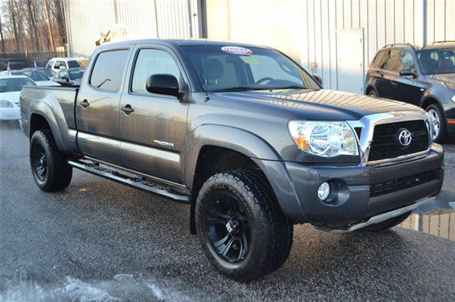 2011 TOYOTA TACOMA V6 4X4 4DR DOUBLE CAB 61 FT LB magnetic gray metallic low miles carfax one