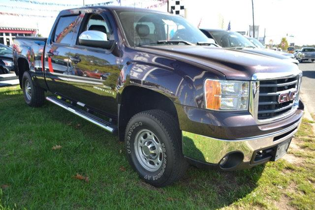 2008 GMC SIERRA 2500HD - dark crimson metallic this 2008 gmc sierra 2500hd 4dr - features a 66l