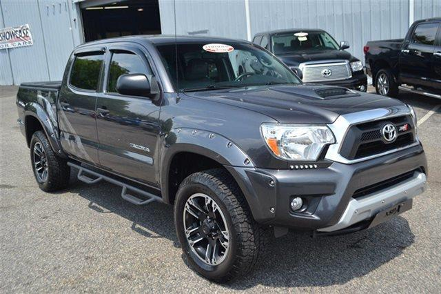 2013 TOYOTA TACOMA V6 4X4 4DR DOUBLE CAB 50 FT SB magnetic gray metallic warranty a limited warr