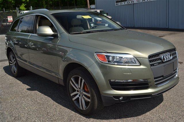 2007 AUDI Q7 36 PREMIUM QUATTRO AWD 4DR SUV sycamore green metallic new arrival low miles th
