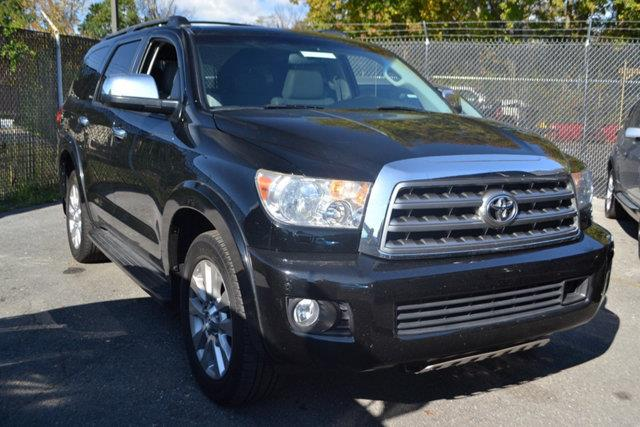 2008 TOYOTA SEQUOIA PLATINUM 4X2 4DR SUV black this 2008 toyota sequoia 4dr rwd 4dr lv8 6-speed a