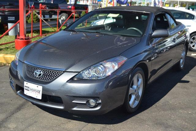 2008 TOYOTA CAMRY SOLARA 2DR CONVERTIBLE V6 AUTOMATIC SLE magnetic gray metallic this 2008 toyota