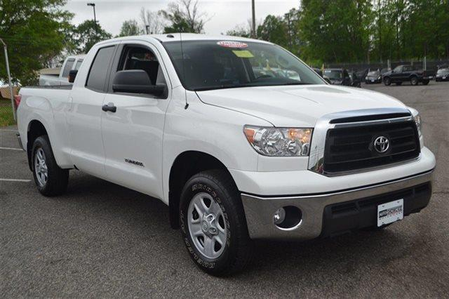 2012 TOYOTA TUNDRA GRADE 4X4 4DR DOUBLE CAB PICKUP super white carfax 1-owner this 2012 toyota