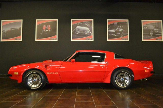 1975 PONTIAC TRANS AM - red this 1975 pontiac trans am -  it is equipped with a automatic transm