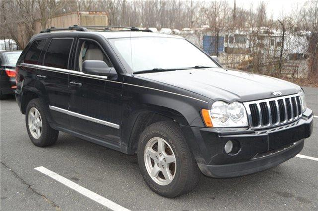 2006 JEEP GRAND CHEROKEE LIMITED 4DR SUV 4WD black value priced below market heated seats ke