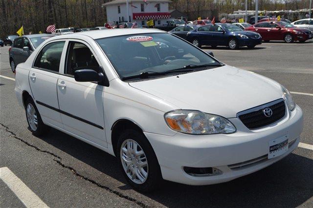 2007 TOYOTA COROLLA CE super white priced below market this 2007 toyota corolla ce sedan will