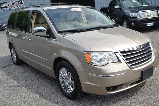 2008 CHRYSLER TOWN AND COUNTRY LIMITED 4DR MINI VAN light sandstone metallic new arrival low m