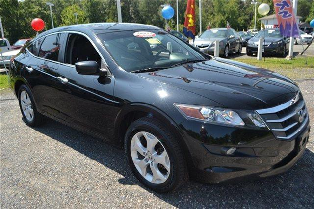 2012 HONDA CROSSTOUR 4WD V6 5DR EX-L crystal black pearl value priced below market bluetooth