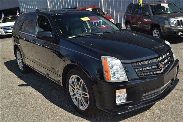 2008 CADILLAC SRX V6 4DR SUV black raven keyless start this 2008 cadillac srx awd has a sharp