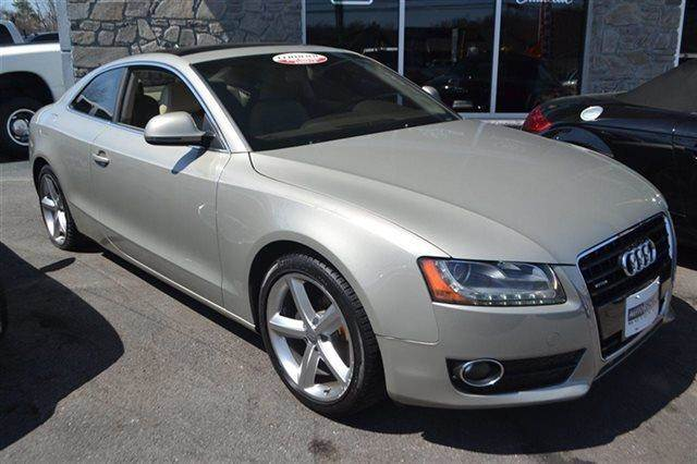 2009 AUDI A5 COUPE WITH TIPTRONIC AWD COUPE sahara silver metallic this 2009 audi a5 coupe with t