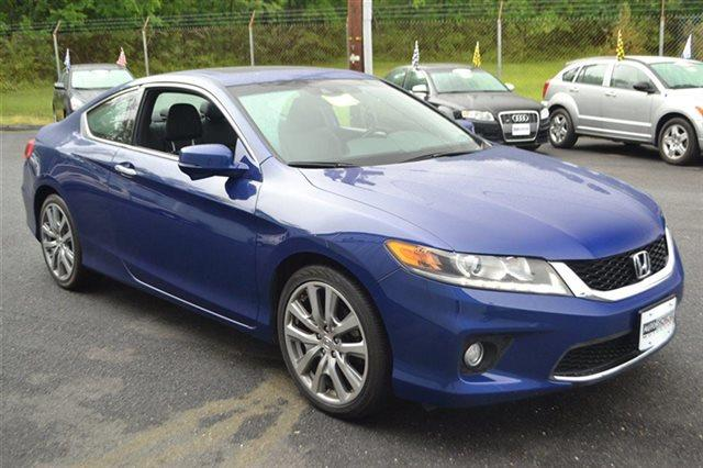 2013 HONDA ACCORD 2DR V6 AUTOMATIC EX-L COUPE blue value priced below market heated seats su