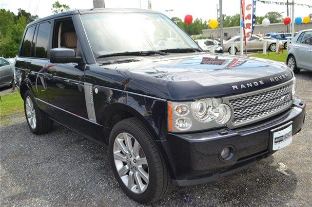 2007 LAND ROVER RANGE ROVER SUPERCHARGED 4DR SUV 4WD buckingham blue low miles this 2007 land