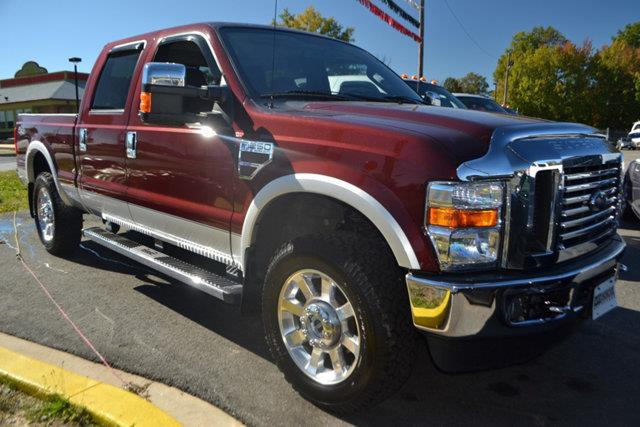 2010 FORD F-250 SUPER DUTY - red this 2010 ford super duty f-250 srw 4dr - features a 64l 8 cyli