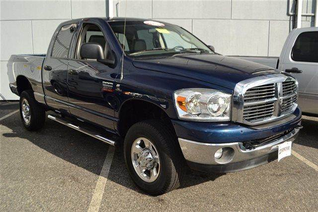 2008 DODGE RAM PICKUP 2500 LARAMIE 4X4 TRUCK blue 4wd this 2008 dodge ram 2500 slt will sell fa