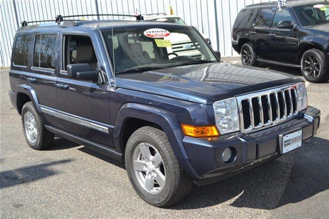 2008 JEEP COMMANDER LIMITED 4X4 4DR SUV modern blue pearl this 2008 jeep commander limited will