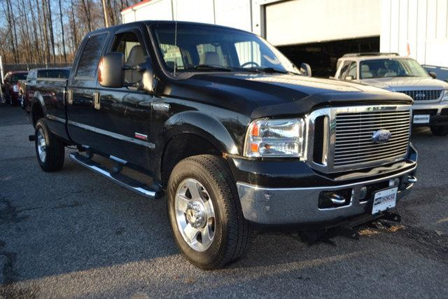 2007 FORD F-350 SUPER DUTY - black this 2007 ford super duty f-350 srw 4dr - features a 60l 8 cy