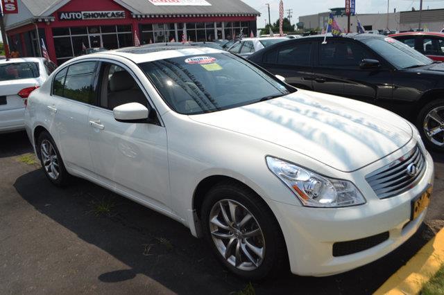2009 INFINITI G37 SEDAN X AWD 4DR SEDAN moonlight white this 2009 infiniti g37 sedan 4dr 4dr x aw