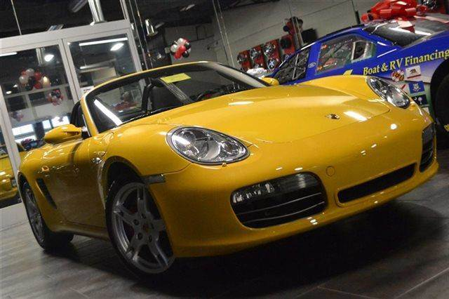 2008 PORSCHE BOXSTER S CONVERTIBLE yellow priced below market this 2008 porsche boxster s conv