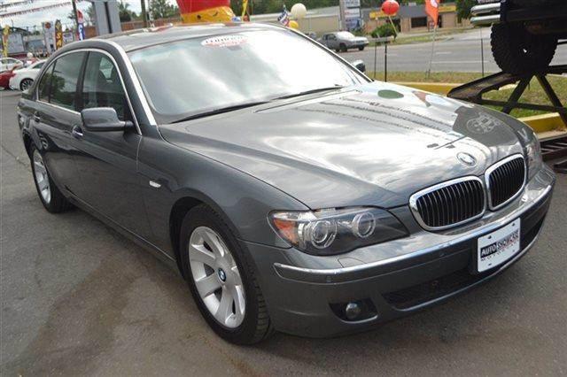 2008 BMW 7 SERIES 750LI 4DR SEDAN titanium gray metallic low miles this 2008 bmw 7 series 750li