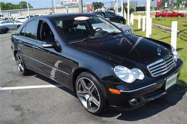 2007 MERCEDES-BENZ C-CLASS C280 LUXURY 4MATIC AWD 4DR SEDAN black this 2007 mercedes-benz c-clas