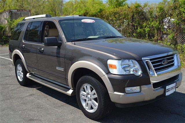 2006 FORD EXPLORER EDDIE BAUER 4DR SUV 4WD WV6 mineral grey metallic low miles this 2006 ford