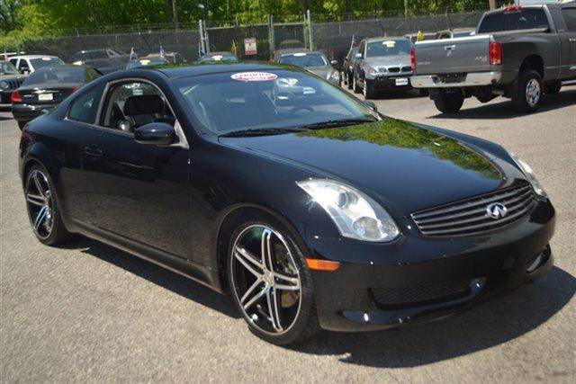 2006 INFINITI G35 BASE 2DR COUPE 35L V6 6M black obsidian this 2006 infiniti g35 coupe - coupe