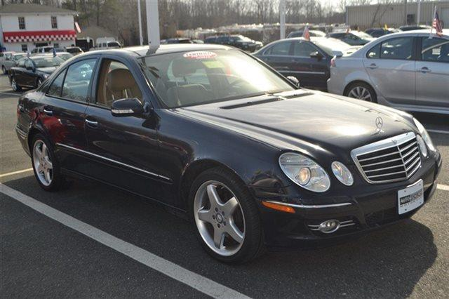 2008 MERCEDES-BENZ E-CLASS E350 4MATIC AWD 4DR SEDAN blue value priced below market sunroofmo