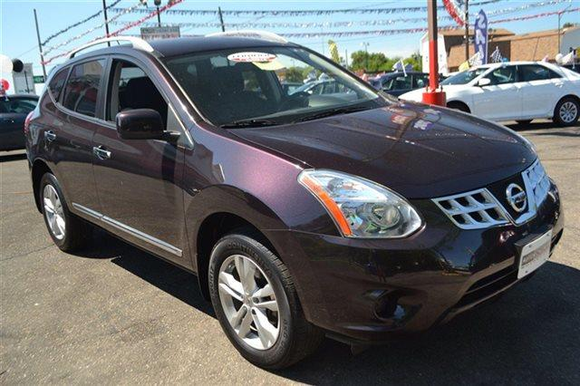 2012 NISSAN ROGUE AWD 4DR SV SUV black amethyst priced below market thisrogue will sell fast