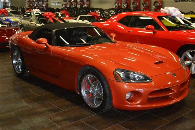 2005 DODGE VIPER SRT-10 2DR ROADSTER orange low miles this 2005 dodge viper srt10 will sell fa