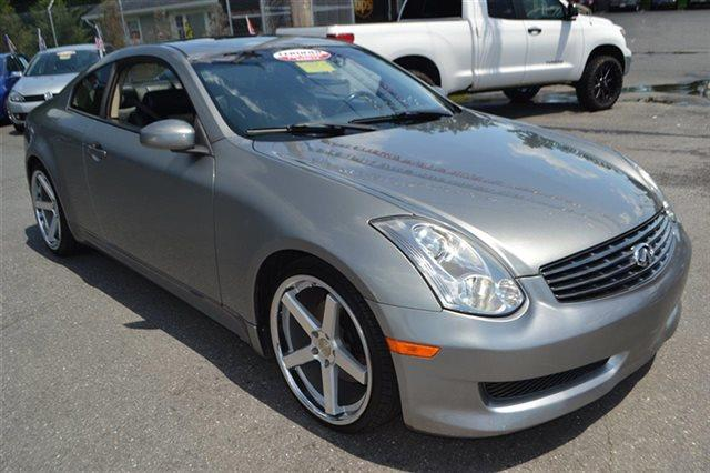 2006 INFINITI G35 BASE 2DR COUPE WAUTOMATIC diamond graphite metallic this 2006 infiniti g35 co