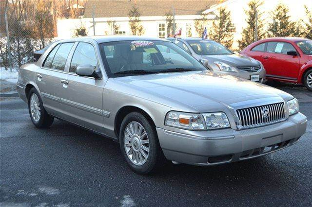 2009 MERCURY GRAND MARQUIS 4DR SEDAN LS SEDAN silver warranty a factory warranty is included with