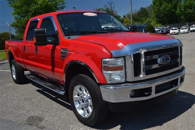 2008 FORD F-350 SUPER DUTY - red new arrival 4wd this 2008 ford super duty f-350 srw - 4x4 tr